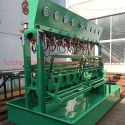 Bombona de Prueba de presión hidráulica de la línea de producción de la máquina