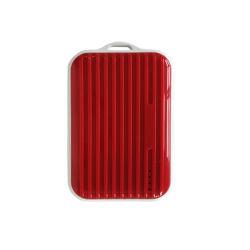 Banque d'alimentation, 10000mAh Chargeur de téléphone portable ultra-haute capacité bloc-batterie externe avec 2 sorties USB dans les bagages en forme de cas pour les téléphones mobiles