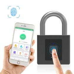 قفل محمول محمول ذكي صغير بصمة الإصبع مع التحكم في التطبيقات