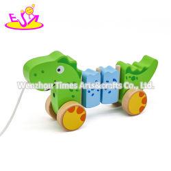 Het populairste Houten Speelgoed van de Duw en van de Trekkracht voor Jonge geitjes W05c121