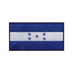 Mayorista de alta calidad personalizado bordado Honduras parche bandera nacional