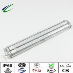 Tubo fluorescente lámpara tubo LED tubo de luz Doble o simple Tubo IP65 0,6m 1,2m 1,5m 2FT 4ft 5ft Luz exterior Iluminación LED