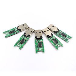 カスタム木のクレジットカードUSB 3.0の2.0のシェルハウジングのフラッシュ駆動機構は1GB 2GB 4GB 8GB 16GB 32GB USBの棒のメモリを欠く