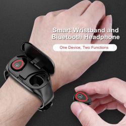 Auriculares Bluetooth Android Smart Pulseira M1 Auriculares Tws Dom assistir