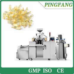 De automatische Lopende band van de Capsule van de Gelatine van de Machine van de Capsule van het Gel van de Vistraan Kosmetische Zachte Zachte