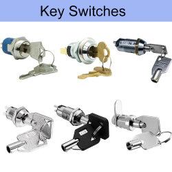 12 16 19 mm, la posición de desconexión electrónica 2-3 en el UL certificados de seguridad Micro interruptor de llave de bloqueo de leva