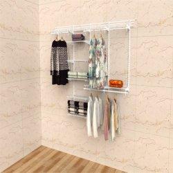 صندوق الخزانة الرف المعدني للحائط للملابس والأحذية