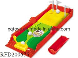 Los chicos de plástico Ball juego de disparos juego de golf de los dedos