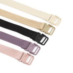 Cinque cinghie della tessitura del cotone di colori