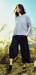 女性のための卸し売り標準的なブランド原因様式の特大快適なセーター