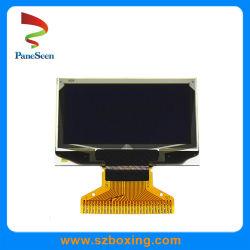 1,3-Inch Blue Pm OLED-Scherm met 128*64 Dots/110 CD/M2/SSD1106g IC/8-Bits 68xx/80xx Parallel, 3/4-Draads Spi&Iic voor controllerdisplay