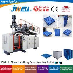Jwell-Bm500|1000 HDPE het Plastic Vormen die van de Slag Makend Machine die in het Produceren van Pallets wordt gebruikt recycleren die Industrie van het Vervoer van Producten verpakken
