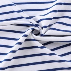 Yigao Textilgarn Gefärbte Streifen Polyester Rayon Spandex Slubby Terry Strickstoff