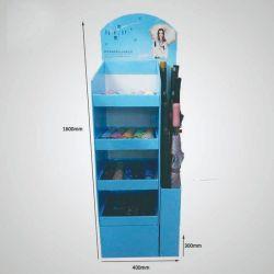 Compartimento de despejo de Papelão Ondulado personalizados Praça POS visor guarda de papelão