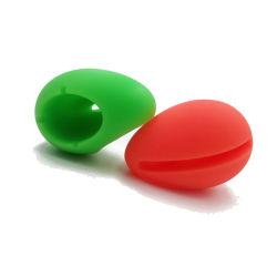 カスタマイズされた高品質の食品等級のシリコーンの白熱は卵のShapedmusicのアンプのスピーカーの携帯電話のホールダーの蛍光固定ベースを遊ばす