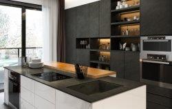 Tabla de paneles de mármol artificial interior moderna con piedra sinterizada