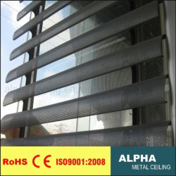 Aluminiumluftschlitze der farbton-Fenster-Blendenverschluss-Vorhang-158u Sun