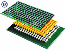 공장 공급에 의하여 주조되는 FRP GRP 섬유유리 격자판