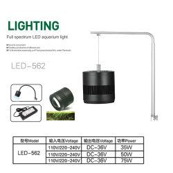 Lampada di clip piena di spettro dell'indicatore luminoso 75W dell'acquario del LED per i serbatoi
