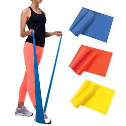L'yoga domestica della costruzione di corpo della strumentazione di ginnastica tir suare l'allungamento delle fasce Hip di resistenza di allenamento del ciclo di esercitazione del latice di gomma mini di forma fisica