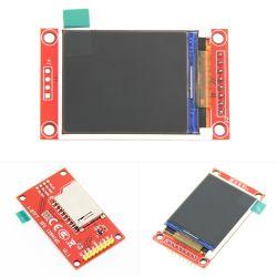 Intelligentes Elektronik-1.77 Zoll 128 * 160 SerienSpi TFT LCD Baugruppen-Bildschirmanzeige + Fahrer-Vorstand mit Ableiter-Kontaktbuchse