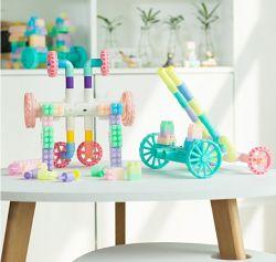 De Verre Auto van de Bouwstenen van het Speelgoed van de Kinderen van het Onderwijs DIY Voor de Auto van de Afstandsbediening van het Stuk speelgoed van Jonge geitjes