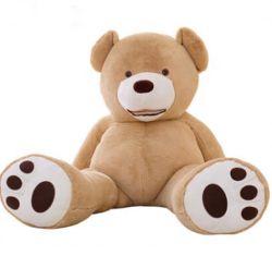 Reuze draag Shell van de Huid het Speelgoed van de Pluche van de Teddybeer