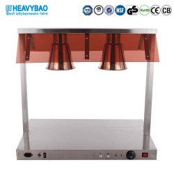 Aplicações de cozinha de aço inoxidável Heavybao comida eléctrica lâmpada de isolamento da luz de aquecimento