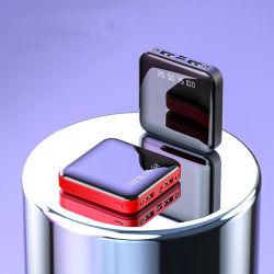 Camping rechargeable portable petit carré 20000mAh avec affichage de la Banque d'alimentation