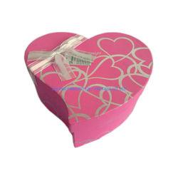 Персиковый цвет бумаги формы подарочная упаковка с помощью розового цвета 3 различных размеров лента Бабочки Логотип напечатано на удивление косметический украшения шоколад OEM хорошего качества