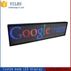 Verschieben- der Bildschirmanzeigemeldung LED-Schaukasten-Handy-Kommunikations-Innenbildschirmanzeige-Meldung-grafischer Schaukasten