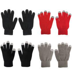 Magic cinco dedos rapaz quente de Inverno de luva de acrílico