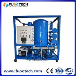 4000 وحدة فولاكيوم وحدة معالجة الزيت الكهربائي لعجف الزيت، نزع الغازات، فلتر إلى 1 ميكرون