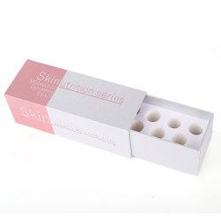 Retângulo de papel personalizado High-End Caixa com almofada interior em espuma