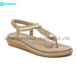 Novo design de moda casual mulheres de alta qualidade sapatos e sandálias