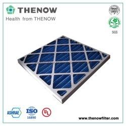 Cor azul do G4 de Papelão pré-filtro descartável para sistemas HVAC