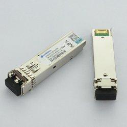 Modulo ricetrasmettitore SFP 1,25 g 1550 nm CWDM 40 km interfaccia LC con Funzione DDM
