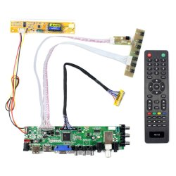 15.4 17 Duim voor 1440X900 B170pw03 B170pw06 Lp171wp4 Ltn170X2 B170pw01 Ltn170wx Lp171wx2 Ltn170bt08 Lp171wpa HDMI VGA AV USB ATV DTV LCD de Raad van de Bestuurder
