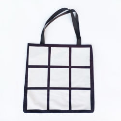 Сублимация Персонализированные пользовательские 9 панели Photo Print женская сумка Магазинов взять на себя сумки