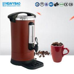 헤비바 8.8L 매트 브라운 스테인리스 스틸 커피 urn 히터