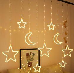 LED مخصص عيد الميلاد سلسلة ضوء جليد للديكور الداخلي في الهواء الطلق