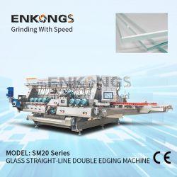 Hoogst - de betrouwbare Sm20 Dubbele Scherpende Machine van het Glas om Te bouwen/Bouw