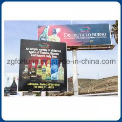 Guangzhou Außenwerbung Frontlit Backlit Glossy Flex Banner 680g Digital Drucken