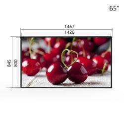 "Publicidad LCD de 65"" LCD de pantalla Full HD de la máquina Wall-Mounted Digital Signage de la unidad de display LCD Monitor LCD"
