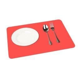 Restaurant Pad un nettoyage facile Table à manger mat mat de cuisson en silicone