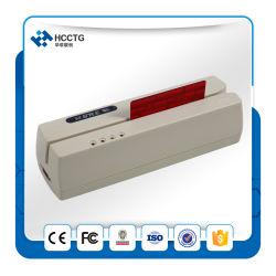 磁気強打の読取装置USB Msr三重トラック読取装置か著者(HCC206U)