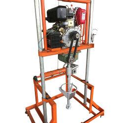 benzina di profondità di 50m/piccola piattaforma di produzione portatile diesel del pozzo d'acqua da vendere