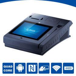 Kiosque de paiement de Soutien POS Carte NFC Carte bancaire et carte prépayée