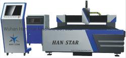 Хан-Ce стандарт высокой точностью установка лазерной резки с оптоволоконным кабелем для резки листовой металл промышленности