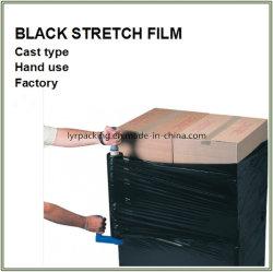 Pallet nero del manuale LLDPE che sposta la pellicola di stirata